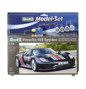 REVELL 67027 Samochód sportowy Porsche 918 Spyder Weissac (zestaw)