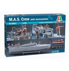 ITALERI 5611 Okręt M.A.S. + załoga + akcesoria