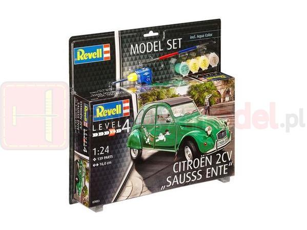 """REVELL 67053 Samochód osobowy Citroën 2CV """"Sausss Ente"""" (zestaw)"""