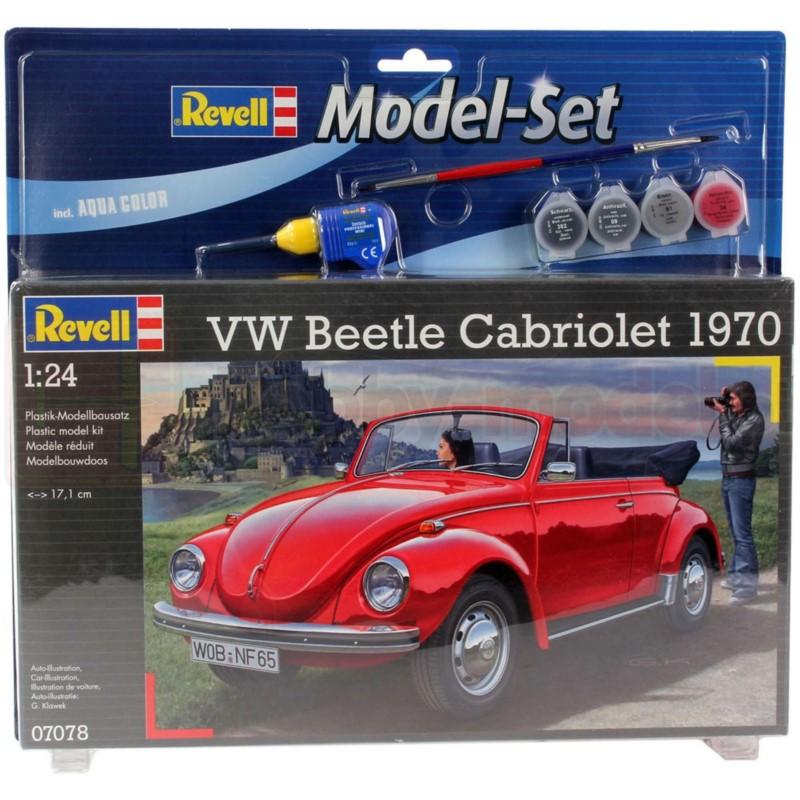 REVELL 67078 Samochód osobowy VW Beetle Cabriolet 1970 (zestaw)