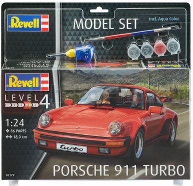 REVELL 67179 Samochód sportowy Porsche 911 Turbo (zestaw)
