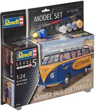 REVELL 07436 Samochód dostawczy VW T1 Samba Bus (zestaw)