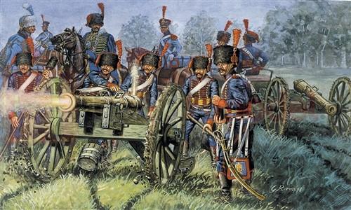 ITALERI 6018 Artyleria Straży Francuskiej
