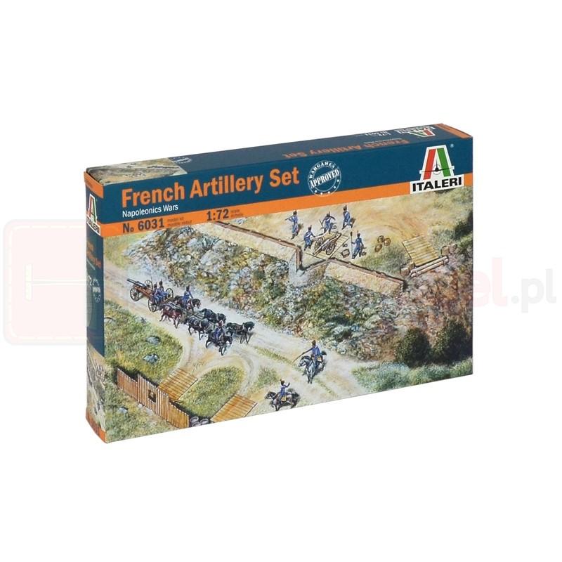 ITALERI 6031 Zestaw francuskiej artylerii