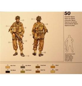 ITALERI 6034 Brytyjscy spadochroniarze