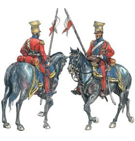 ITALERI 6039 Polscy i holenderscy ułani