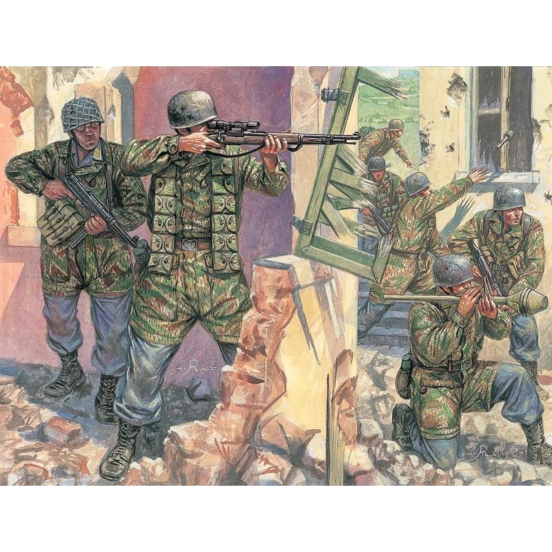 ITALERI 6045 Niemieccy spadochroniarze