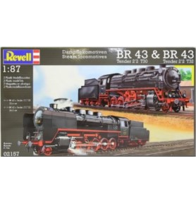 REVELL 02157 Lokomotywa parowa Steam Locomotives BR 43 (zestaw)