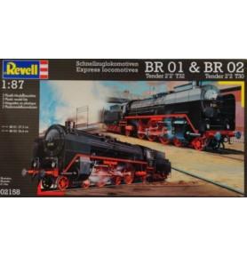 REVELL 02158 Pociągi pośpieszne BR 01 & BR 02