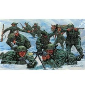 ITALERI 6059 Figurki Oddziały piechoty wojsk włoskich