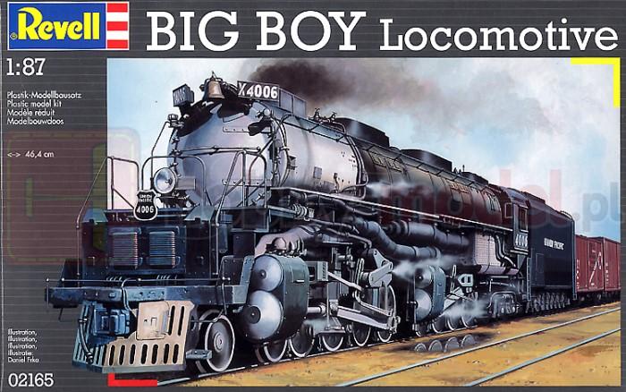 REVELL 02165 Lokomotywa parowa Big Boy Locomotive