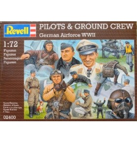 REVELL 02400 Figurki Luftwaffe pilots & ground crew (zestaw)