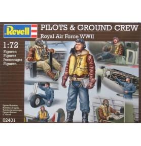 REVELL 02401 Figurki RAF pilots & ground crew (zestaw)
