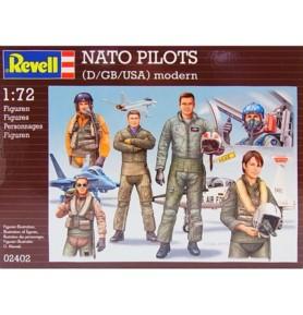 REVELL 02402 Figurki NATO Pilots (zestaw)