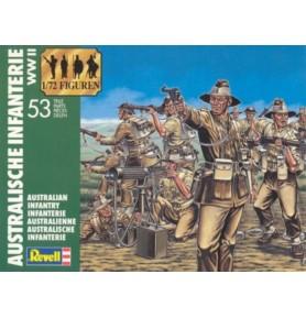REVELL 02501 Figurki World War II Australian Infantry (zestaw)