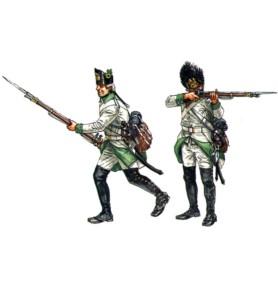 ITALERI 6093 Figurki Austriacka piechota 1798-1805
