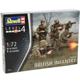 REVELL 02519 Figurki British infantry (zestaw)