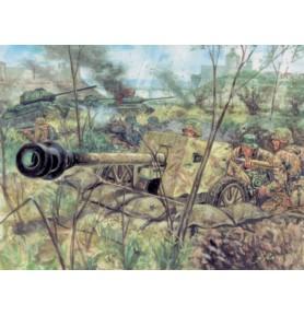ITALERI 6096 Figurki Niemiecki pistolet przeciwczołgowy