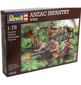 REVELL 02529 Figurki ANZAC Infanterie WWII (zestaw)