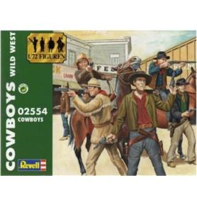 REVELL 02554 Figurki Cowboys Wild West (zestaw)