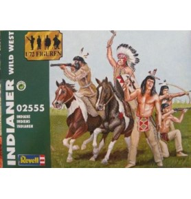 REVELL 02555 Figurki Indians (zestaw)