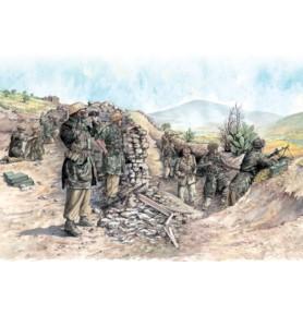 ITALERI 6134 Figurki Niemieccy spadochroniarze