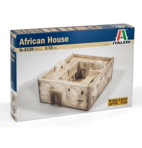 ITALERI 6139 Akcesoria Afrykański dom