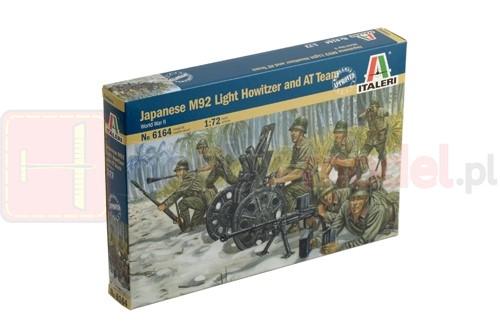 ITALERI 6164 Figurki Japońska lekka haubica M92 i zespół