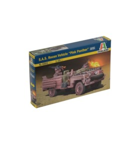 "ITALERI 6501 Pojazd SAS Recon vehicle ""Pink Panther"""