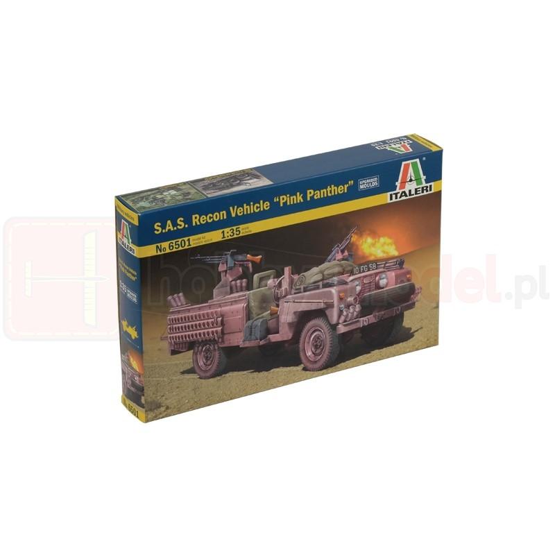 """ITALERI 6501 Pojazd SAS Recon vehicle """"Pink Panther"""""""