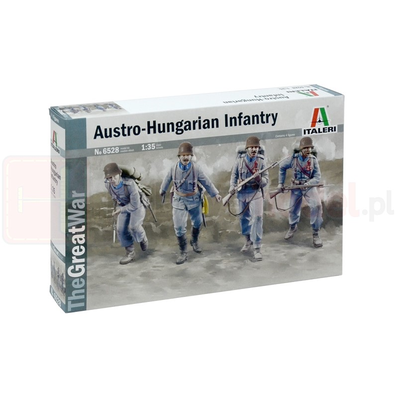 ITALERI 6528 Figurki Austriacko-węgierska piechota
