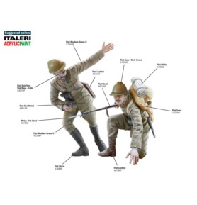 ITALERI 6532 Figurki Włoska piechota