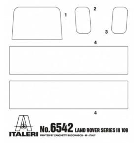 ITALERI 6542 Pojazd Land Rover Series III