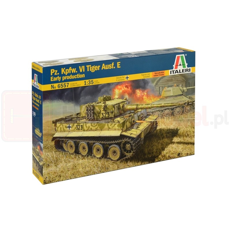 ITALERI 6557 Czołg PzKpfw VI Tiger Ausf. E.
