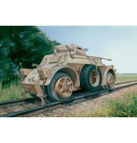 ITALERI 7064 Pojazd Autoblinda AB 40 Ferroviaria