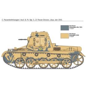 ITALERI 7072 Czołg Sd.Kfz. 265 Panzerbefehlswagen