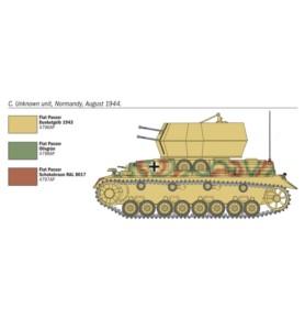 ITALERI 7074 Działo Flakpanzer IV Wirbelwind