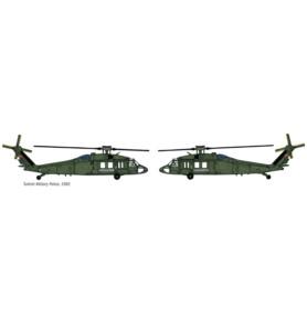 ITALERI 71025 Śmigłowiec UH 60 Desert Hawk