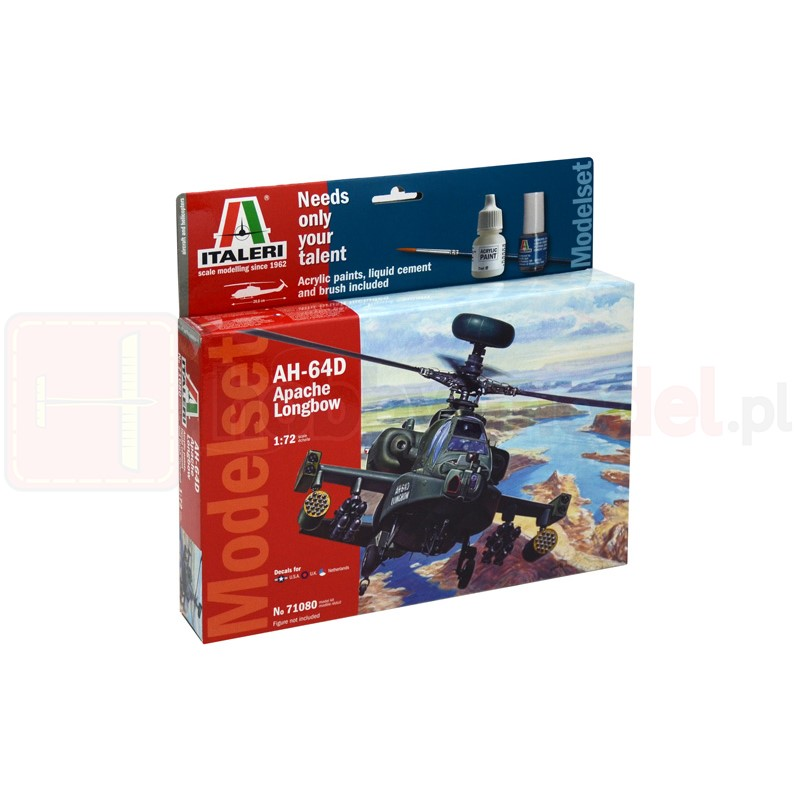 ITALERI 71080 Śmigłowiec AH-64 Apache