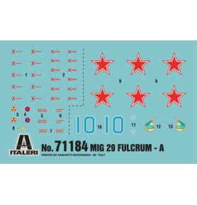 ITALERI 71184 Myśliwiec MiG-29A Fulcrum