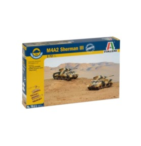 ITALERI 7511 Czołg M4A2 Sherman III