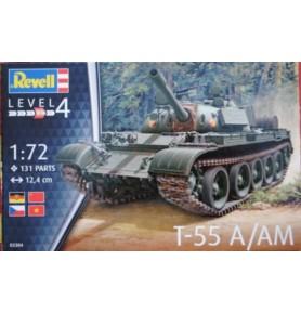 REVELL 03304 Czołg podstawowy T55A