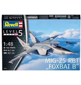REVELL 03931 Myśliwiec naddźwiękowy Mig-25 RBT