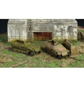 ITALERI 7516 Pojazd Sd. Kfz. 251/1 Ausf. C