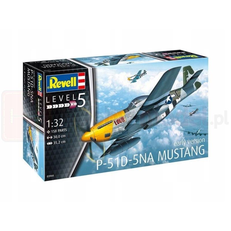 REVELL 03944 Myśliwiec P-51D-5NA Mustang