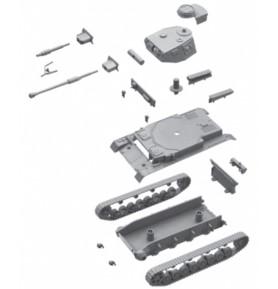 ITALERI 7514 Czołg Sd.Kfz.161 Pz.Kpfw.IV Ausf.F1/F2