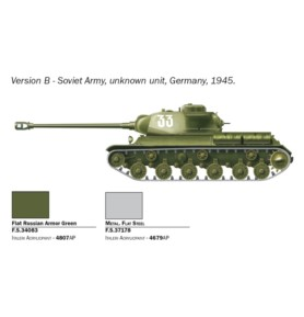 ITALERI 7502 Czołg JS-2 Stalin