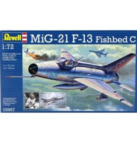 REVELL 03967 Myśliwiec Mig -21 F.13