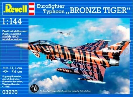 """REVELL 03970 Myśliwiec Eurofighter""""Bronze Tiger"""""""
