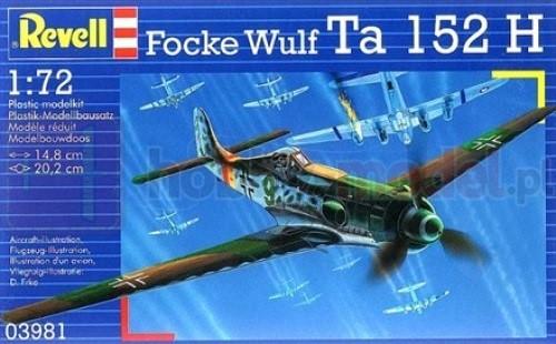 REVELL 03981 Myśliwiec Fw Ta 152H